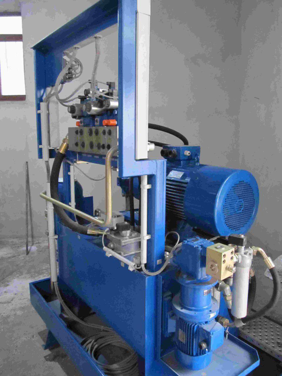 ساخت یونیت های هیدرولیک صنعتی